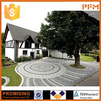 Natural Cheap Polished porphyry paving stone