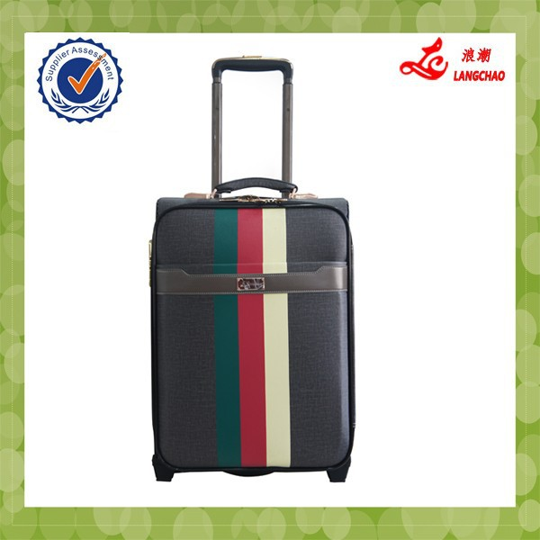 business man style ISO certification luggage trolley bag