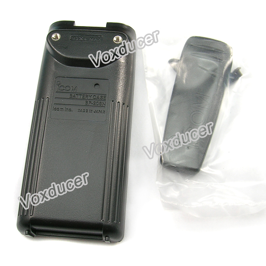 Replacement AA battery pack shell for Icom CB radio IC-F31GT IC-F31GS IC-F41GT IC-F41GS IC-F3GT IC-F3GS IC-F4GT