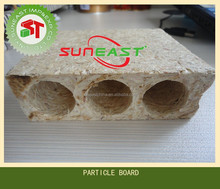 hollow core particle board,chipboard,tubular chipboard for door core