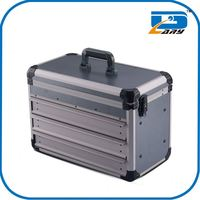 Custom made aluminum tool box trailer