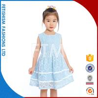 Best Brand Anti-stastic summer casual cotton little girl dress