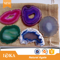 Wholesale Agate Slices Agate Stone Slice