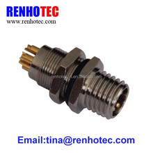 copper male 4 pin 5 pin screw din m12 connector