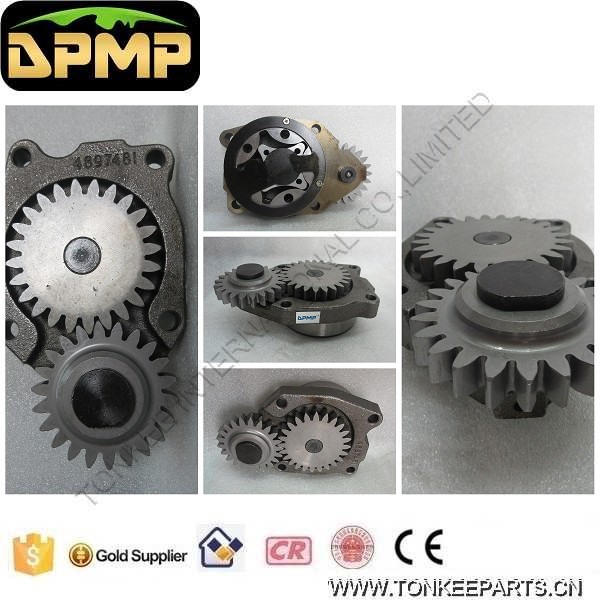 6D107 Engine Oil Pump 4897481 for PC200-8