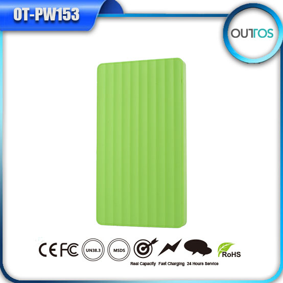 4000 mah battery 5v , factory price slim portable mobile charger for samsung