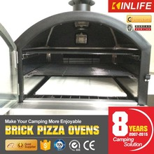 Outdoor Stone Pizza Oven with Built-In Halogen Cooking Lights