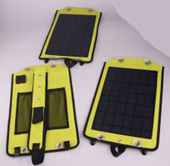 Portable 10w Foldable Solar Panel For Mobile Phone Charger