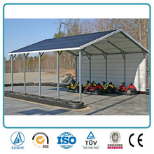 Hot Sale Used Metal Carports Sale Car Parking Shed Carport With Regular Roof