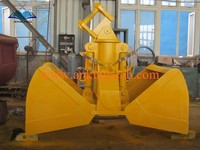 Good Quality Hydraulic Clamshell Grab Bucket For 1-50T Excavator Made in Shanghai Factory