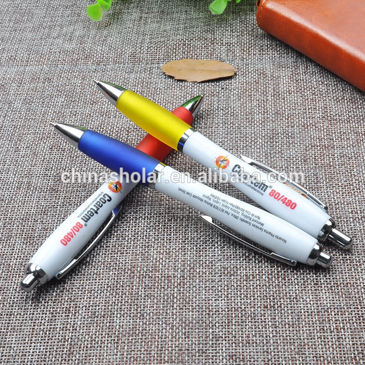 Hot Selling Promotional Custom Logo Contour Chrome <strong>Pen</strong>