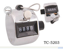 Metal Matetial Mechanical Hand Tally Counter