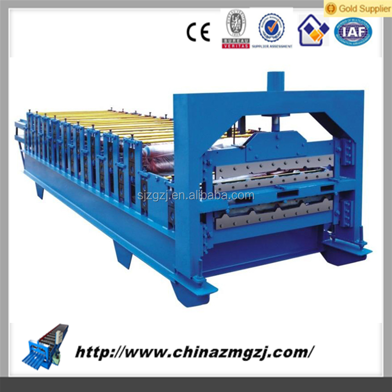roof panel roll forming machine high quality glazed tile roll forming machinery/glazed tile production line