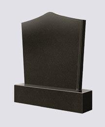 China nature shanxi black headstone poland tombstone/monument