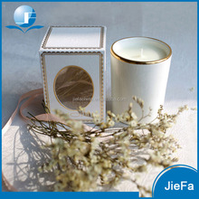 2017 wholesale scented candle glass cup candle in glass jar