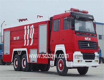 hot selling sinotruck water tank fire engine truck with factory price