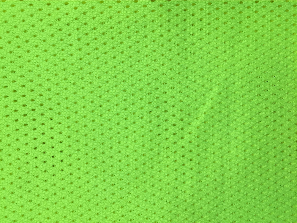 Tricot Fabric Knitting Cloth Material Fabric Fluorescent Fabric for Safety Vests