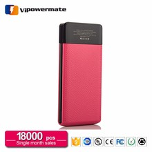 Smart fashionable mobile phone qc 3.0 10000mah power bank 10000 powerbank 10000 mah