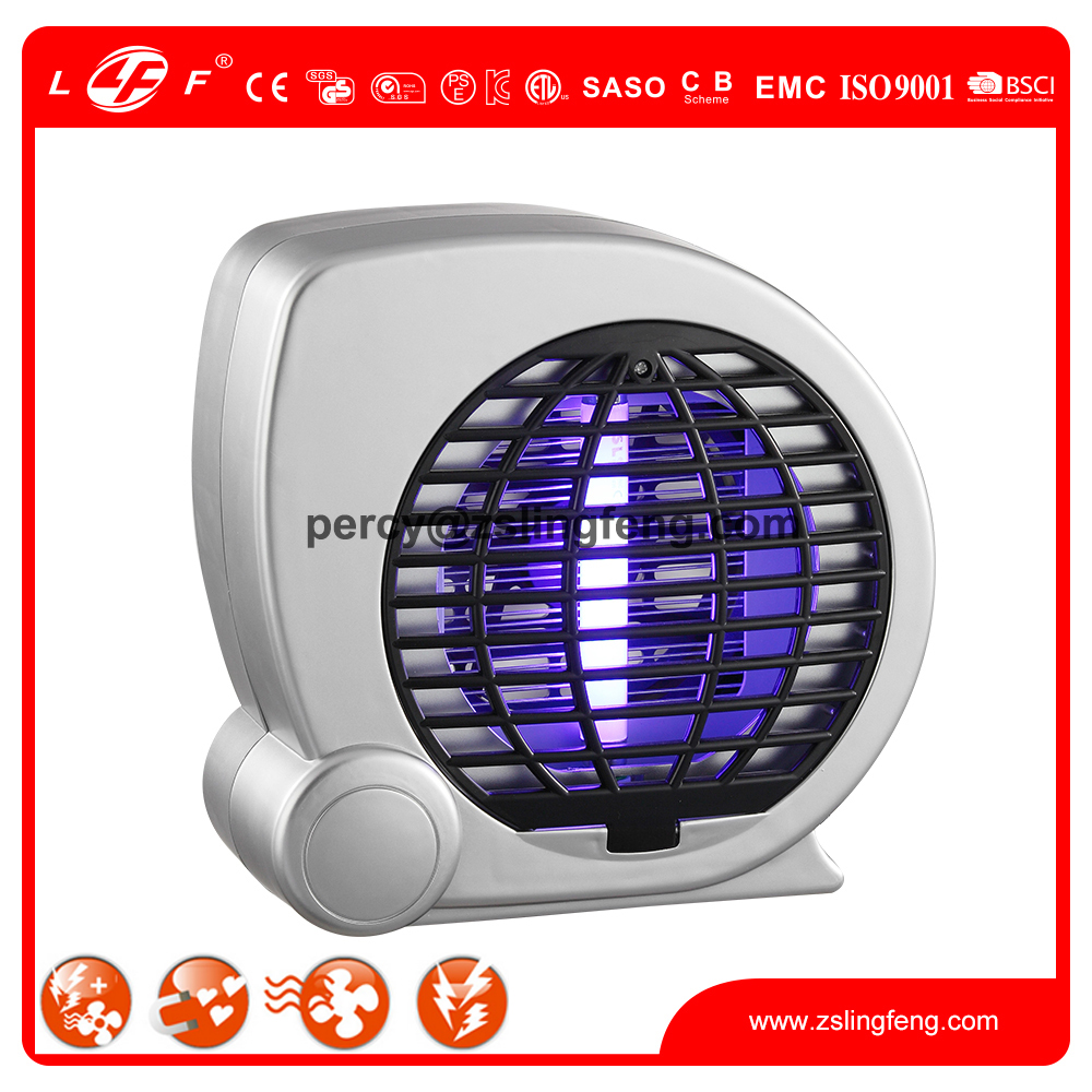 children home use smart insect killer with fan and 4W UVA tube