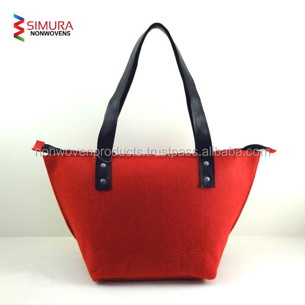 Polyester Felt Material Tote Bag