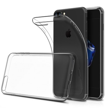 C&T Soft TPU Crystal Clear Transparent Slim Anti Slip Shockproof Back Case Cover for iPhone 7