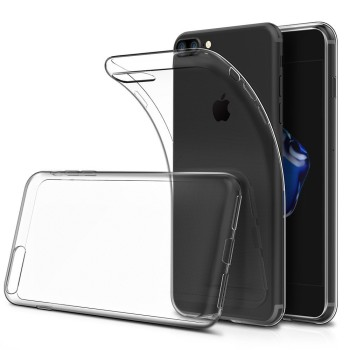 For iPhone 7 Soft TPU Crystal Clear Transparent Slim Case Anti Slip Shockproof Back Case Cover for iPhone 7