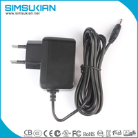 for video game player,massage chair,CCTV camera 12v1a ac dc power supply adapter