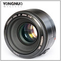 YONGNUO CAMERA LENS YN50MM 1.8
