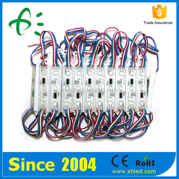 ROHS Waterproof DC12V 3 Chips 5050 SMD LED Module