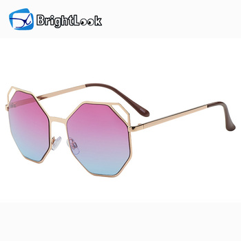 Brightlook beautiful metal women wholesale 2017 fashion sunglasses