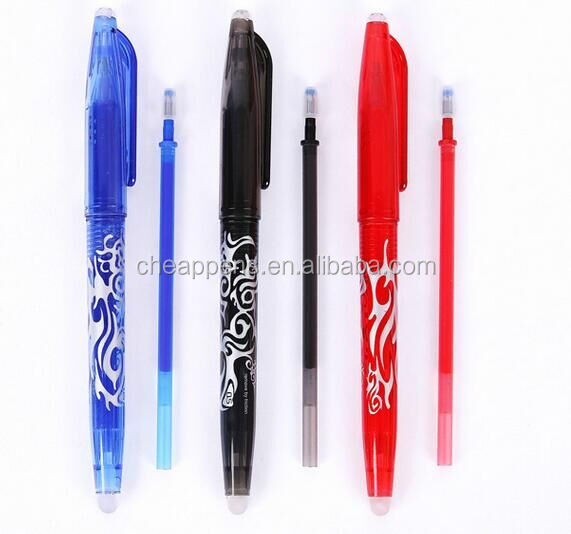 popular Pilot frixion erasable ball pen, plastic promotional erasable gel ink pen