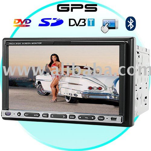 A.W.G 7 Inch Touchscreen Car DVD Player with GPS + DVB-T