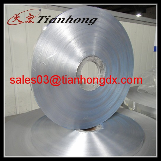 single-side or double-side bonded aluminium EMAA mylar foil for cables shield