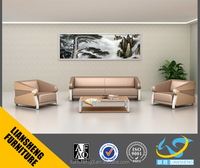 2016 New Design Style home furniture 1+1+3 Leather Sofa set