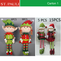 big christmas gifts set xmas elf series new year decoration dolls