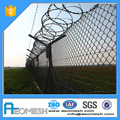 pvc coated square wire mesh fence used for basketball courts for sale