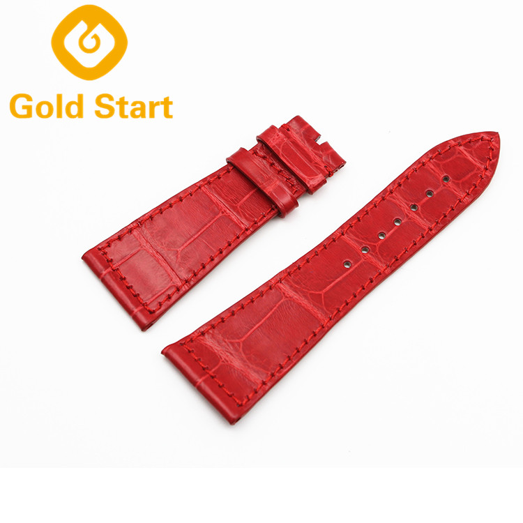 Hot Sale Italian Genuine Leather Watch Band Straps
