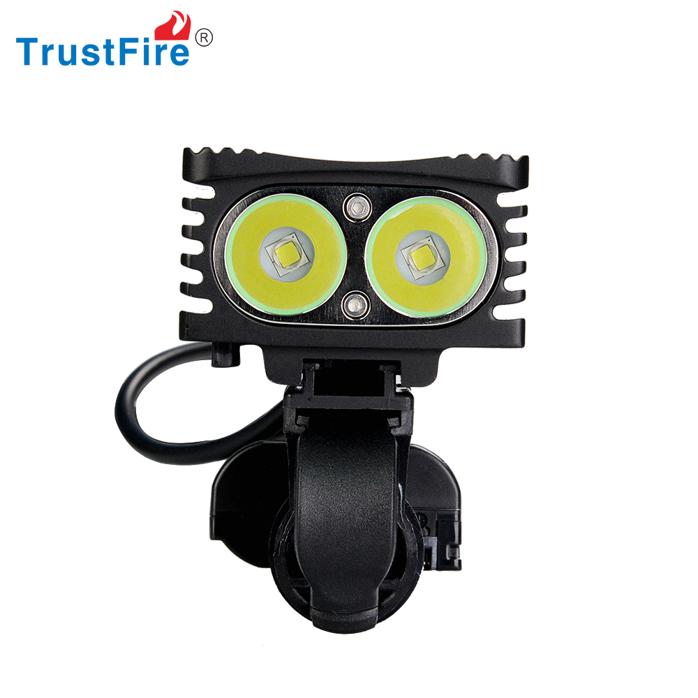 hot!!!trustfire D002 headlight&bicycle light 2*xm-l t6 led 1000LM from shenzhen trustfire original factory