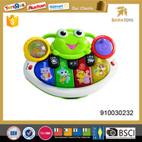 Electronic organ baby musical toy with light and music