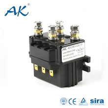High Voltage 100A 200A 400A 12V 24V 48V Magnetic Circuit Electrical Type Relay Reversible Car Power Normally Closed Dc Contactor