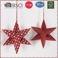 Christmas DIY 3D New Paper Star Decorations