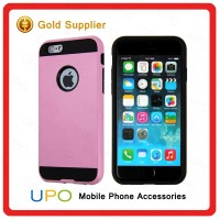 [UPO] High Quality Custom Hard Plastic PC + TPU Hybrid Combo Cell Phone Covers Case for iPhone 6