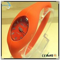 2015 alibaba china silicone negative ion watch with rubber ion sports wristband watch and watch ion