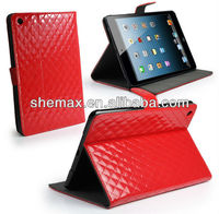 Saphire Wallet Executive flip Case cover design for Apple ipad Mini Red
