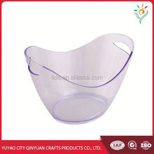 Hot sale high quality plastic ice buckets for party