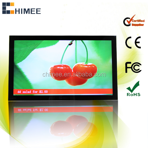 32inch vesa wall mount lcd wifi portable evd dvd player price advertising digital signage player