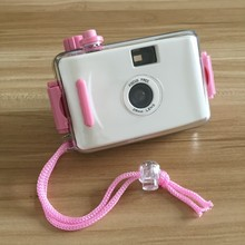 35MM Film Reusable Waterproof LOMO Camera Underwater 5Meter Depth without Flash (white color)