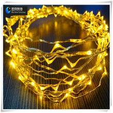 christmas led strip light outdoor use copper wire with PVC box paking long life time low voltage