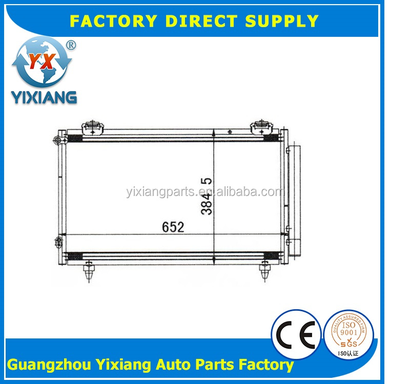 factory price bus air-cooled refrigeration condenser and evaporators refrigerator For BYD F3/ALTIS