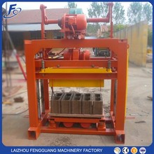 QTJ4-40 semi automatic brick making machine / cement block making machines price
